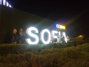 Wieczorny spacer po centrum Sofii oraz relaks po pracy na kręgielni.